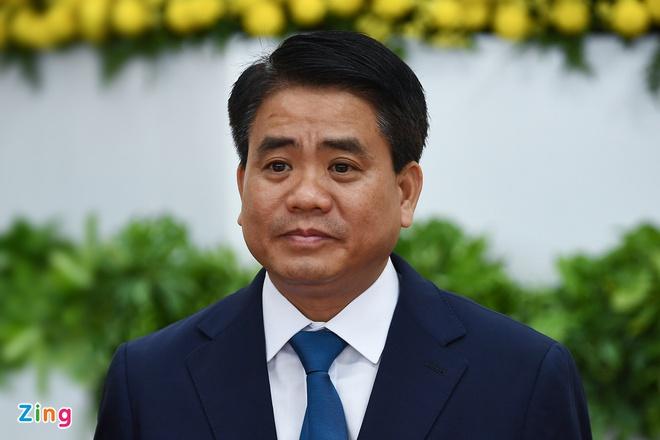 Ông Nguyễn Đức Chung bị bãi nhiệm chức Chủ tịch UBND Hà Nội-1