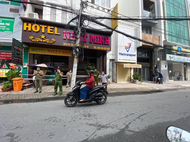 TP.HCM: Cháy khách sạn vào rạng sáng, 1 người chết, 1 người bị thương-1