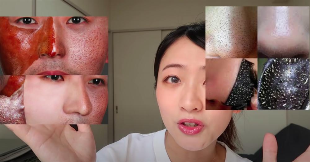 Beauty blogger người Nhật dạy cách trị mụn đầu đen ngay từ bước rửa mặt, nhấn mạnh việc nặn hay lột mụn sẽ khiến da lão hóa cực nhanh-3