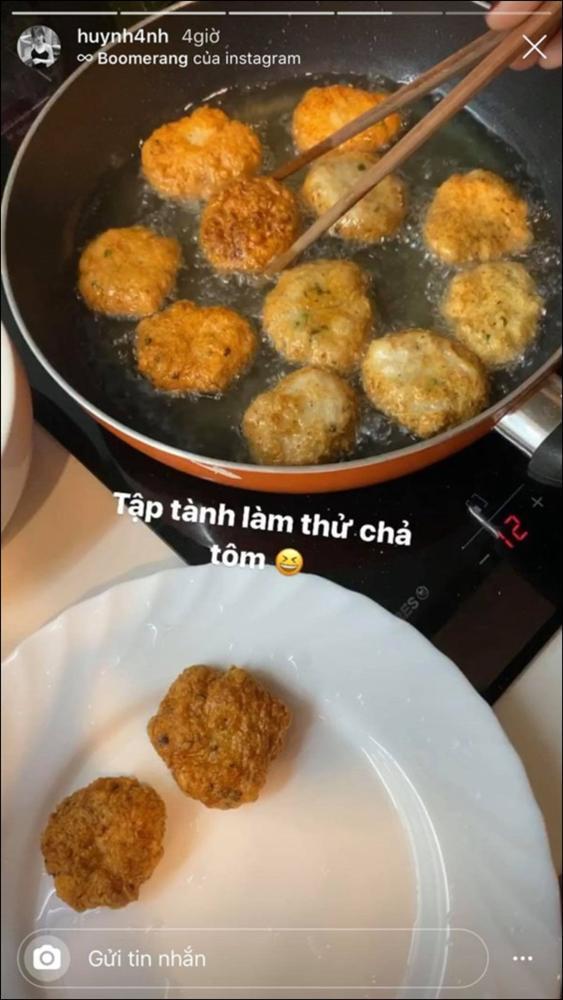 Huỳnh Anh khoe mâm cơm 2 người ăn do chính mình trổ tài,dân tình chúc mừng Quang Hải Đúng là có số hưởng-6