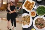 Huỳnh Anh khoe mâm cơm 2 người ăn do chính mình trổ tài,dân tình chúc mừng Quang Hải 'Đúng là có số hưởng'