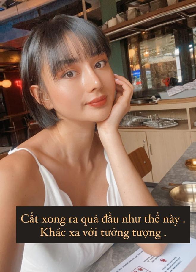 Hiện tượng dao kéo Việt bất ngờ cắt tóc ngắn, nghe nhận xét của chồng đại gia là biết cưng vợ tới nóc rồi-2