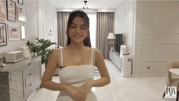 Khám phá không gian bên trong căn hộ mới tậu của ca sĩ Phạm Quỳnh Anh-1