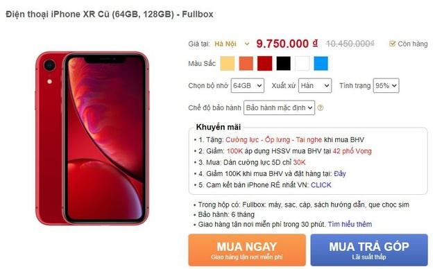 Bức xúc chiêu moi tiền người dùng của các cửa hàng điện thoại xách tay-1
