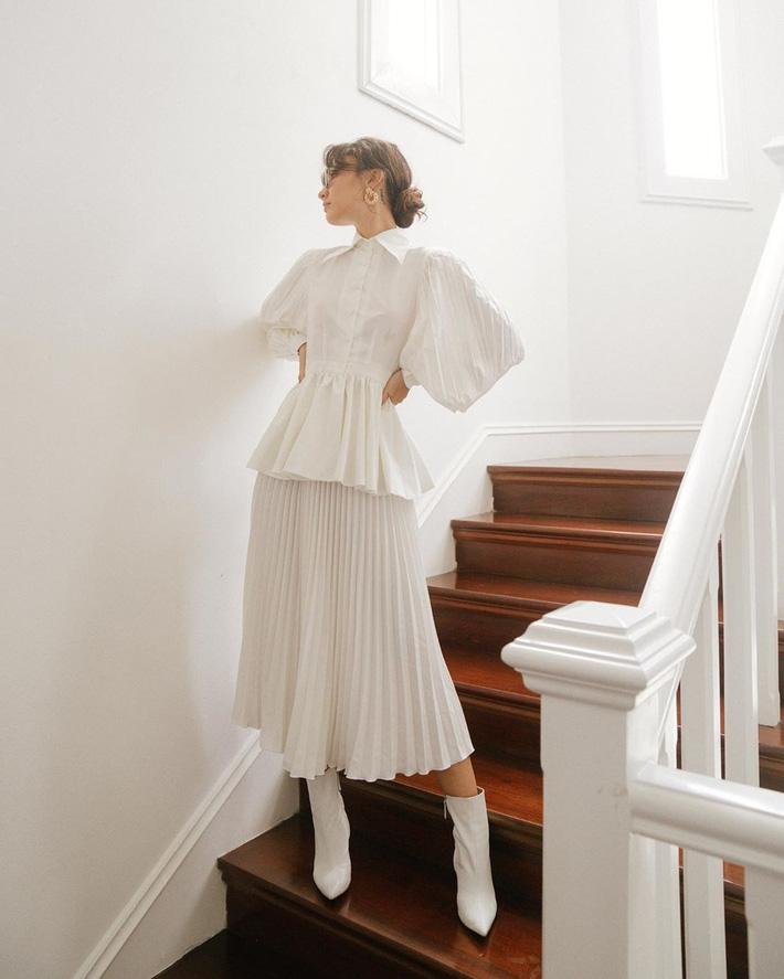 Sắm blouse trắng tiểu thư chanh sả rồi găm đủ 3 bí kíp mix đồ thì bạn sẽ thăng hạng phong cách ngay-7