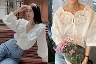 Sắm blouse trắng tiểu thư 'chanh sả' rồi găm đủ 3 bí kíp mix đồ thì bạn sẽ thăng hạng phong cách ngay