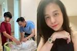 'Mẹ bỉm' Đàm Thu Trang lộ mặt mộc thiếu ngủ sau một tháng chăm con