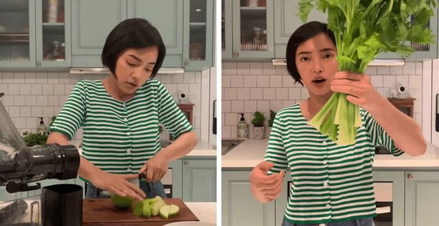 Nghiện salad, cắt bỏ thịt: cách giảm cân an toàn để Châu Bùi xuống liền 3kg chỉ sau 9 ngày-20