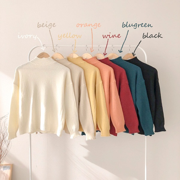 Chỉ là 2 dáng áo len cơ bản nhưng lại có sức mạnh cải thiện style ghê gớm, có đủ thì bạn khỏi lo mỗi sáng mặc gì-2