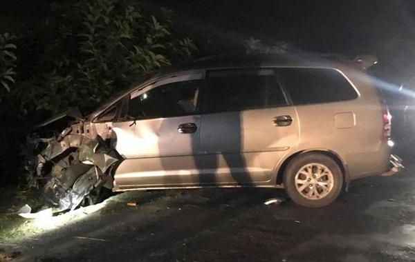 Hải Dương: Ô tô đâm 4 xe máy ngược chiều, 9 người bị thương-2