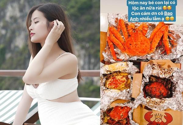 Mỹ nhân Việt bồi bổ con trong bụng: Em gái Trấn Thành ăn thịt 20 triệu, Hà Hồ mới sang-2