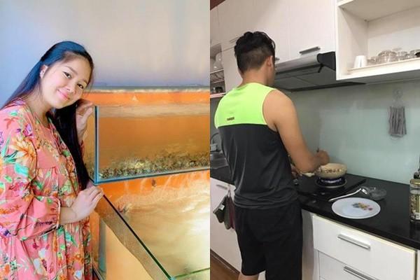 Mỹ nhân Việt bồi bổ con trong bụng: Em gái Trấn Thành ăn thịt 20 triệu, Hà Hồ mới sang-3