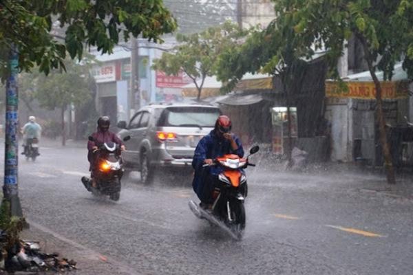 Dự báo thời tiết ngày 28/9: Mưa giông phủ khắp cả nước-1