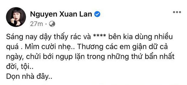 Xuân Lan có động thái mới nhất sau gần 3 ngày bị phía Trọng Hưng tấn công trên mạng xã hội-2