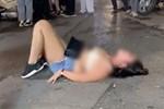 Bất ngờ lý do người phụ nữ lột đồ trước quán bar Tạ Hiện: Do ngồi nhầm chỗ đặt trước-3