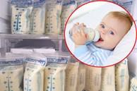 Nhiều người tích trữ sữa mẹ cho con dùng dần nhưng liệu đã biết bao lâu thì hết hạn sử dụng? Tích trữ thế nào mới an toàn?