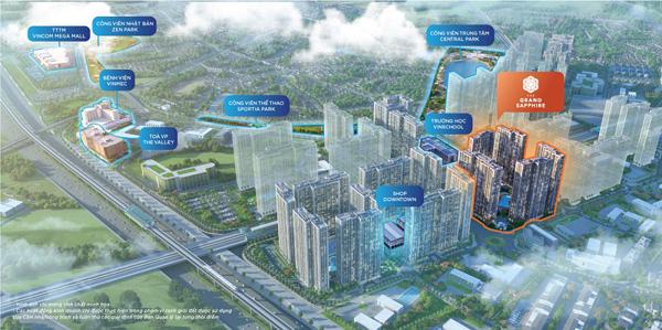 Vinhomes Smart City ra mắt phân khu 'đắt giá' The Grand Sapphire-2