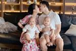 """Hai nhóc tỳ chưa đầy năm, vợ Thành Trung đã sắm góc học tập, câu trả lời của con khi được hỏi ba đâu"""" mới là điều gây chú ý!-10"""