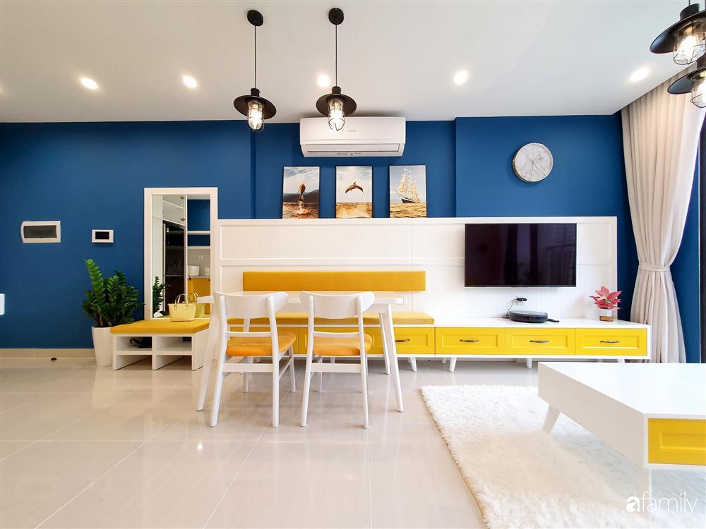 Căn hộ 75m² tràn đầy sức sống với cách phối màu vàng - xanh tinh tế có chi phí hoàn thiện 270 triệu đồng ở Hà Nội-2