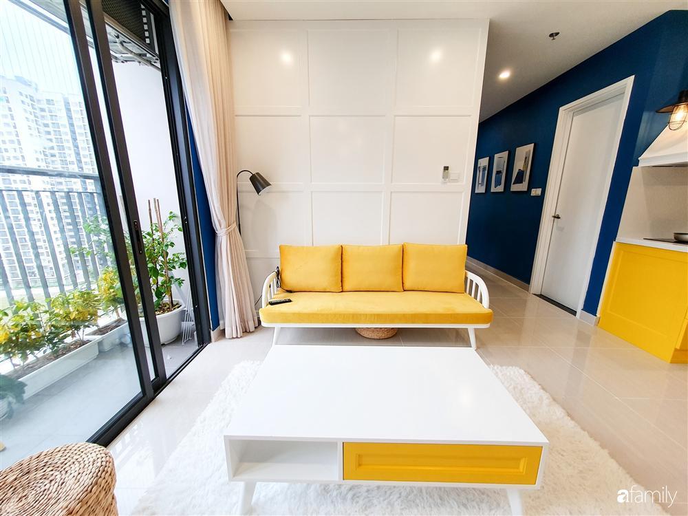 Căn hộ 75m² tràn đầy sức sống với cách phối màu vàng - xanh tinh tế có chi phí hoàn thiện 270 triệu đồng ở Hà Nội-3