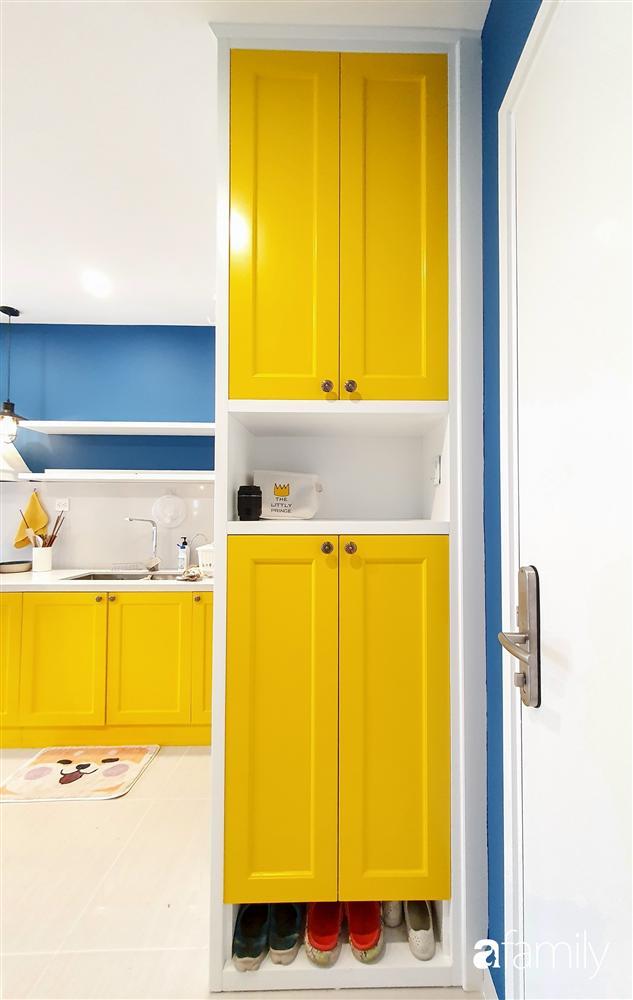 Căn hộ 75m² tràn đầy sức sống với cách phối màu vàng - xanh tinh tế có chi phí hoàn thiện 270 triệu đồng ở Hà Nội-4
