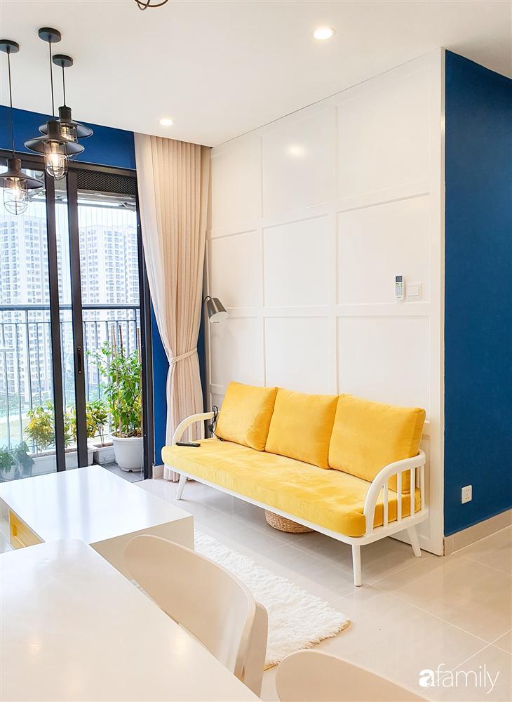 Căn hộ 75m² tràn đầy sức sống với cách phối màu vàng - xanh tinh tế có chi phí hoàn thiện 270 triệu đồng ở Hà Nội-5