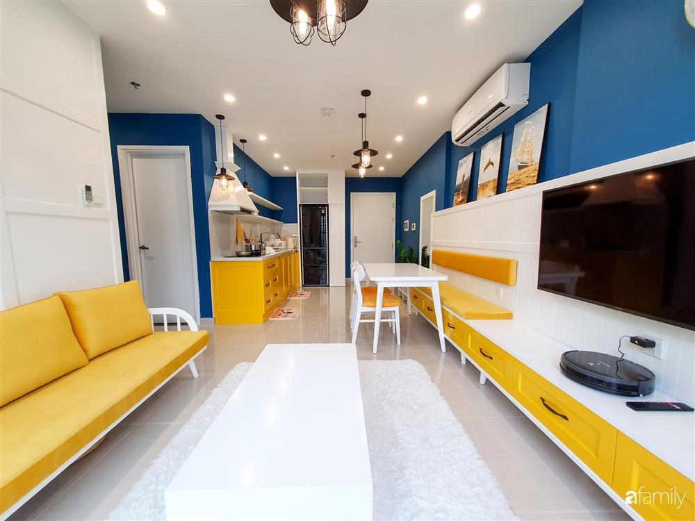 Căn hộ 75m² tràn đầy sức sống với cách phối màu vàng - xanh tinh tế có chi phí hoàn thiện 270 triệu đồng ở Hà Nội-6
