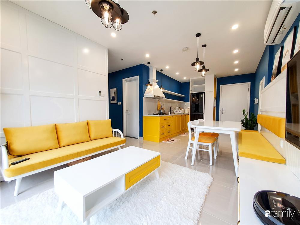 Căn hộ 75m² tràn đầy sức sống với cách phối màu vàng - xanh tinh tế có chi phí hoàn thiện 270 triệu đồng ở Hà Nội-7