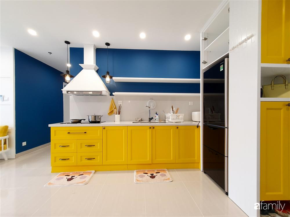 Căn hộ 75m² tràn đầy sức sống với cách phối màu vàng - xanh tinh tế có chi phí hoàn thiện 270 triệu đồng ở Hà Nội-8