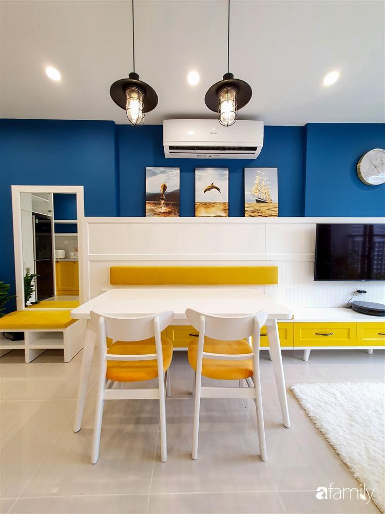 Căn hộ 75m² tràn đầy sức sống với cách phối màu vàng - xanh tinh tế có chi phí hoàn thiện 270 triệu đồng ở Hà Nội-9