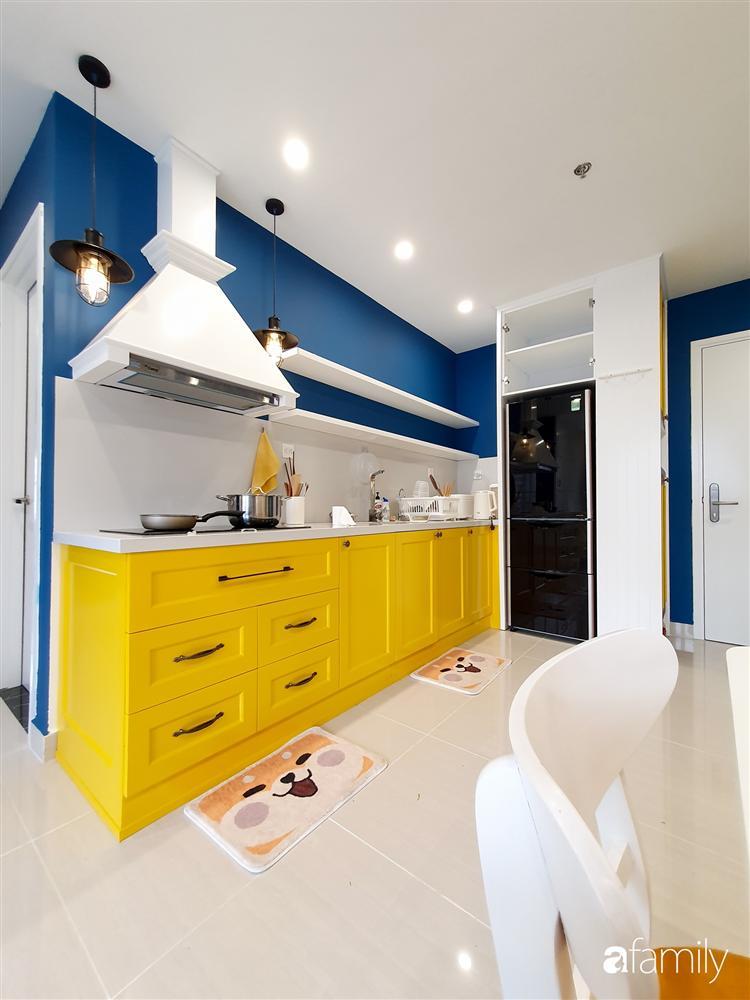 Căn hộ 75m² tràn đầy sức sống với cách phối màu vàng - xanh tinh tế có chi phí hoàn thiện 270 triệu đồng ở Hà Nội-11