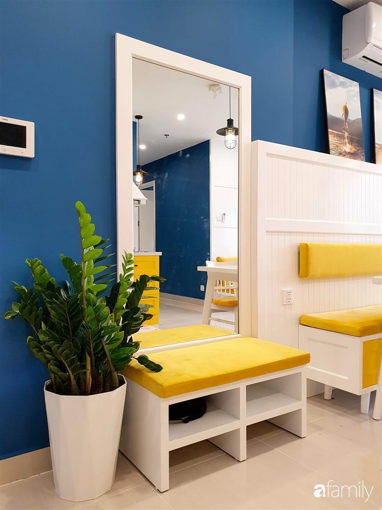 Căn hộ 75m² tràn đầy sức sống với cách phối màu vàng - xanh tinh tế có chi phí hoàn thiện 270 triệu đồng ở Hà Nội-12