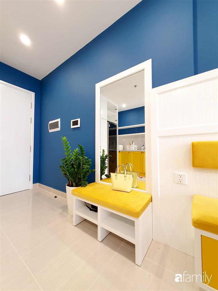 Căn hộ 75m² tràn đầy sức sống với cách phối màu vàng - xanh tinh tế có chi phí hoàn thiện 270 triệu đồng ở Hà Nội-13