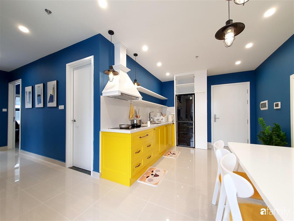 Căn hộ 75m² tràn đầy sức sống với cách phối màu vàng - xanh tinh tế có chi phí hoàn thiện 270 triệu đồng ở Hà Nội-14