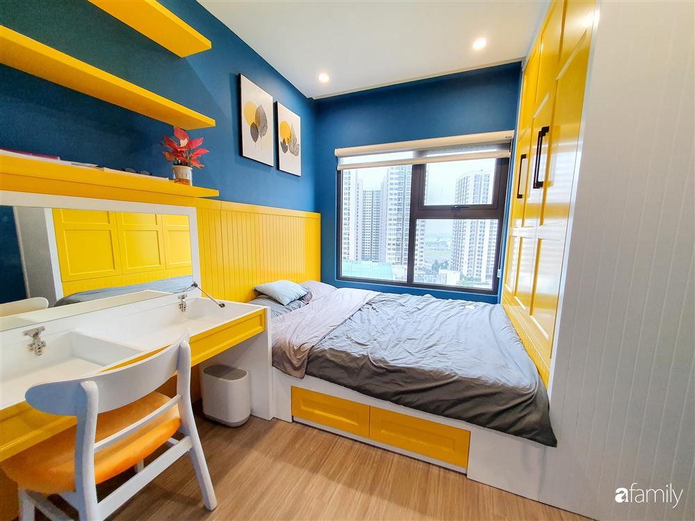Căn hộ 75m² tràn đầy sức sống với cách phối màu vàng - xanh tinh tế có chi phí hoàn thiện 270 triệu đồng ở Hà Nội-17