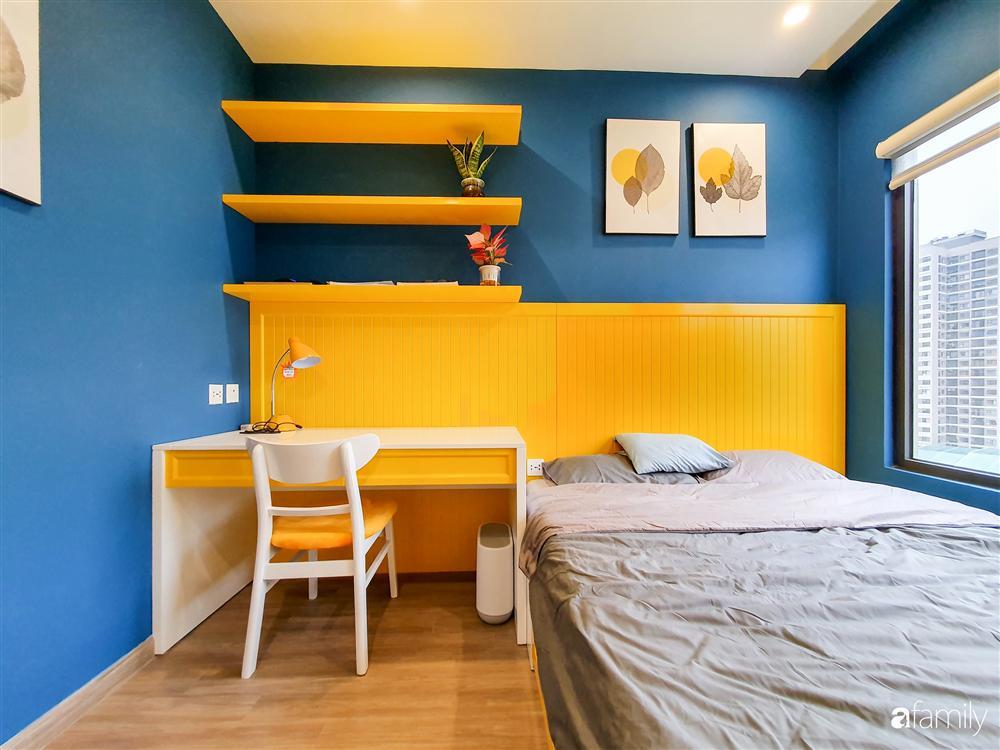 Căn hộ 75m² tràn đầy sức sống với cách phối màu vàng - xanh tinh tế có chi phí hoàn thiện 270 triệu đồng ở Hà Nội-18