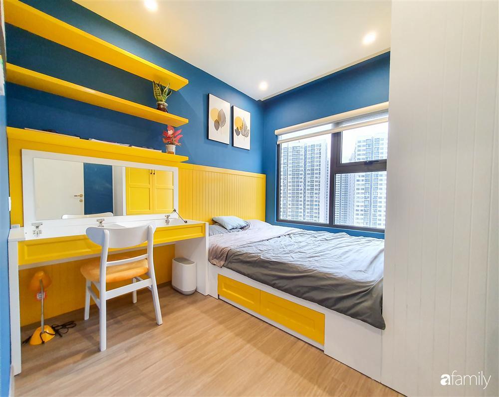 Căn hộ 75m² tràn đầy sức sống với cách phối màu vàng - xanh tinh tế có chi phí hoàn thiện 270 triệu đồng ở Hà Nội-19