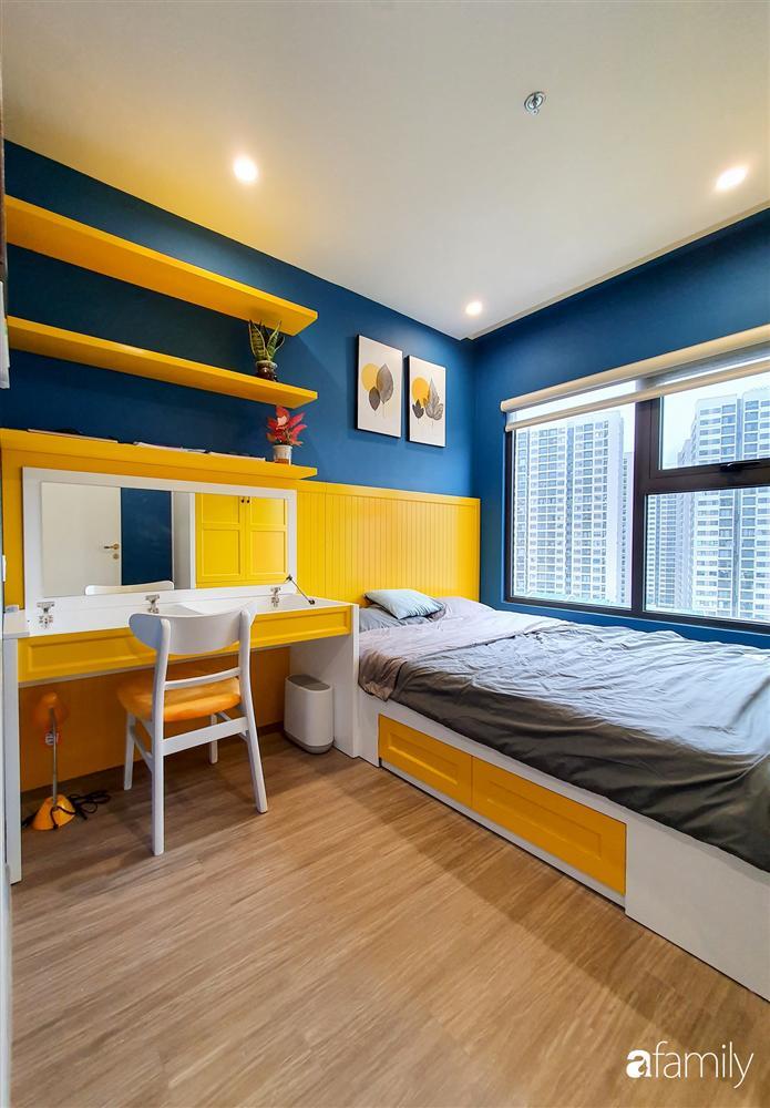 Căn hộ 75m² tràn đầy sức sống với cách phối màu vàng - xanh tinh tế có chi phí hoàn thiện 270 triệu đồng ở Hà Nội-20