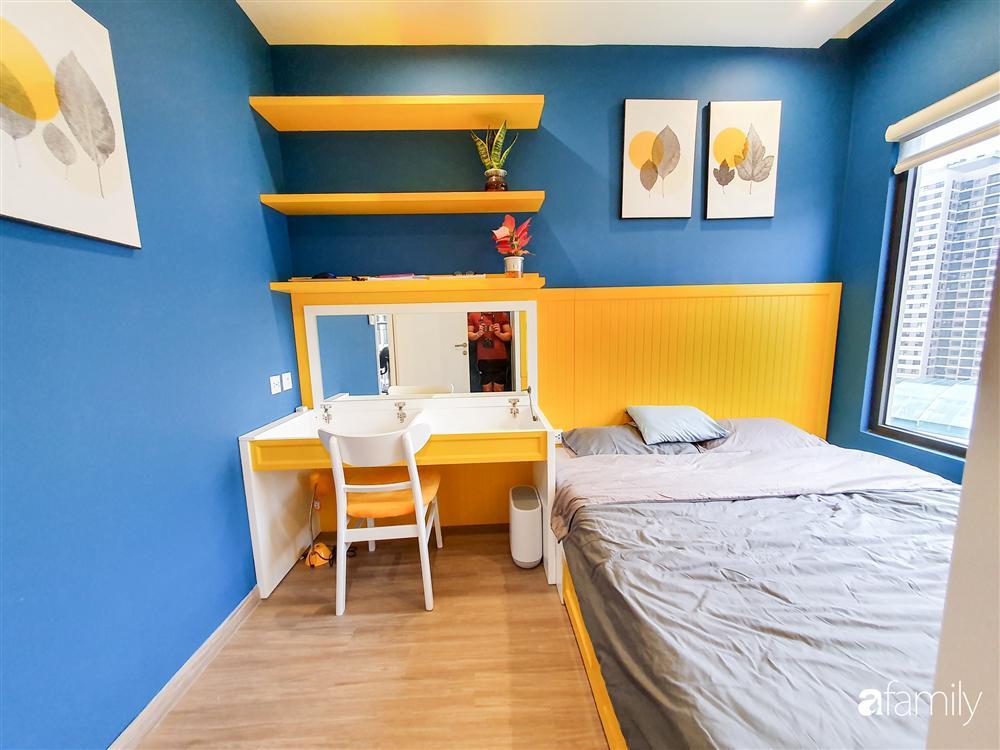 Căn hộ 75m² tràn đầy sức sống với cách phối màu vàng - xanh tinh tế có chi phí hoàn thiện 270 triệu đồng ở Hà Nội-21