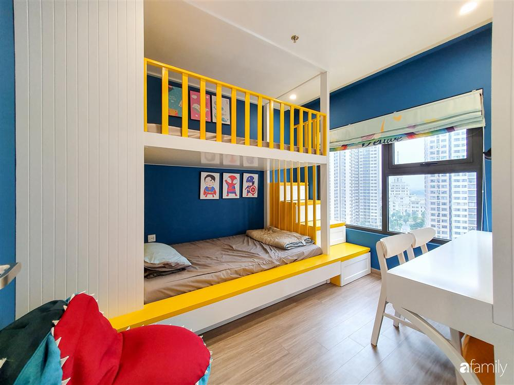 Căn hộ 75m² tràn đầy sức sống với cách phối màu vàng - xanh tinh tế có chi phí hoàn thiện 270 triệu đồng ở Hà Nội-23