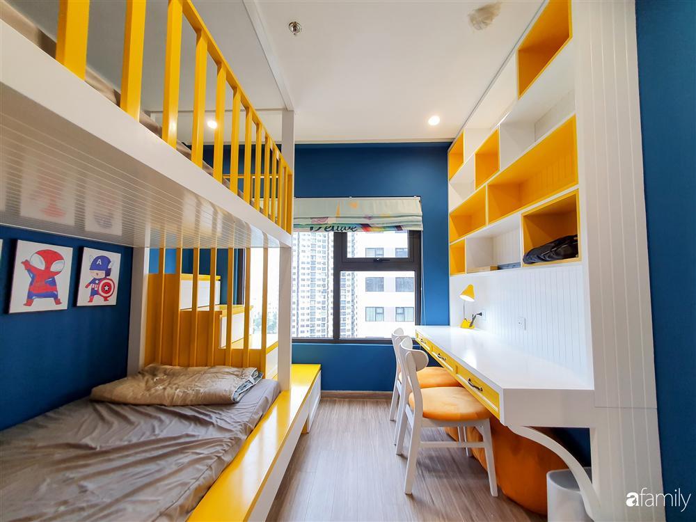 Căn hộ 75m² tràn đầy sức sống với cách phối màu vàng - xanh tinh tế có chi phí hoàn thiện 270 triệu đồng ở Hà Nội-24