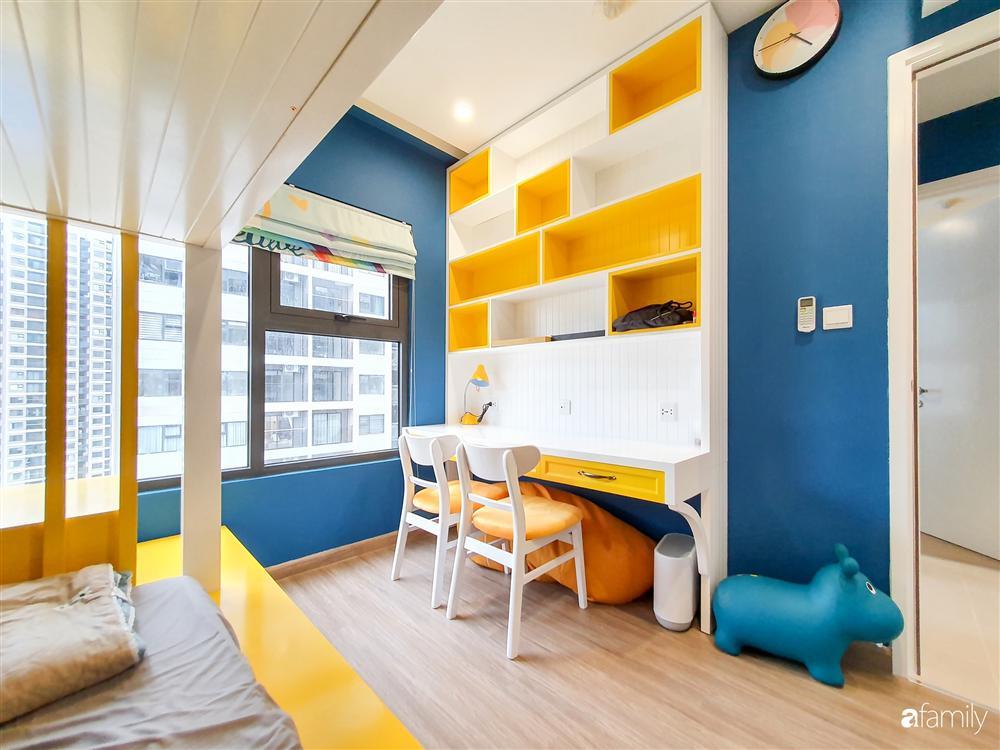 Căn hộ 75m² tràn đầy sức sống với cách phối màu vàng - xanh tinh tế có chi phí hoàn thiện 270 triệu đồng ở Hà Nội-25