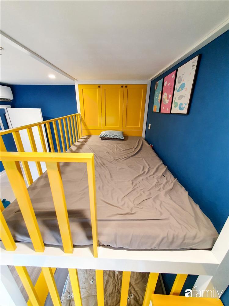 Căn hộ 75m² tràn đầy sức sống với cách phối màu vàng - xanh tinh tế có chi phí hoàn thiện 270 triệu đồng ở Hà Nội-26