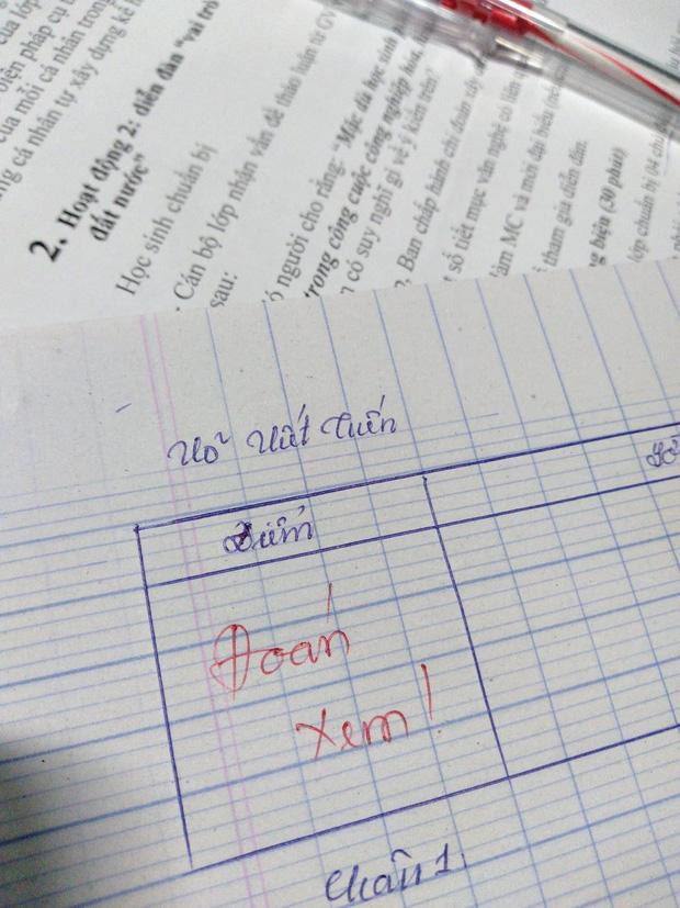 Làm kiểm tra mà bắt cô đoán đáp án, học trò bị đáp lại bằng một từ cực chất-3