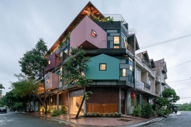 Căn nhà như những tổ chim nhiều màu sắc độc lạ ở Vũng Tàu-1