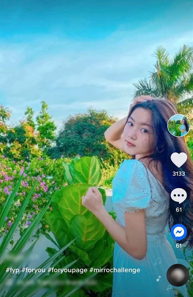 Nhan sắc Thảo Linh - con gái lớn nhà Quyền Linh ngày càng rực rỡ, thu hút vô số fan trên TikTok không thua hot girl nào-2
