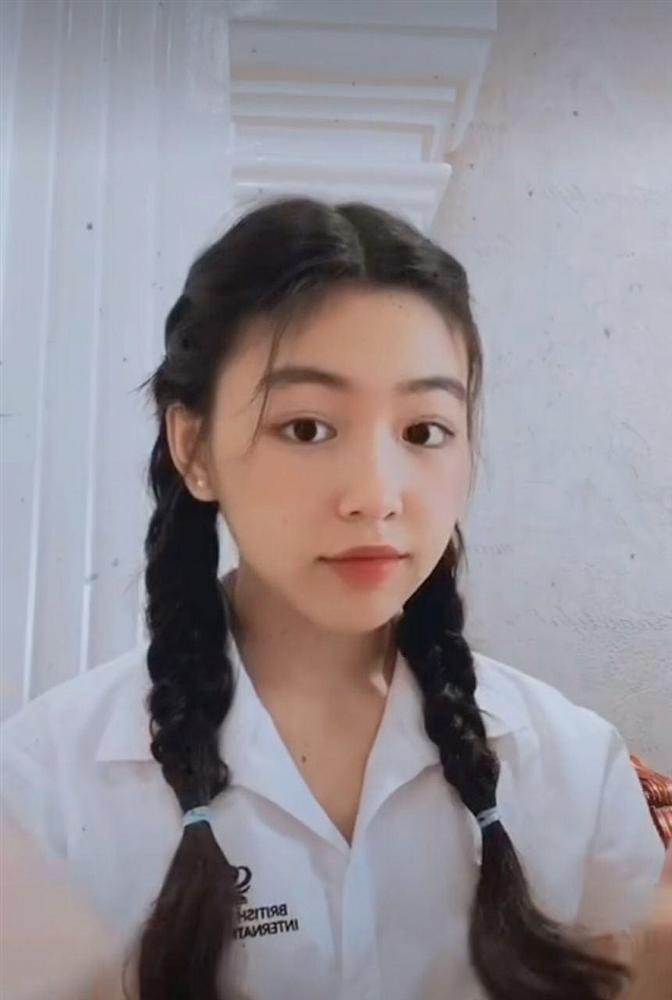 Nhan sắc Thảo Linh - con gái lớn nhà Quyền Linh ngày càng rực rỡ, thu hút vô số fan trên TikTok không thua hot girl nào-4
