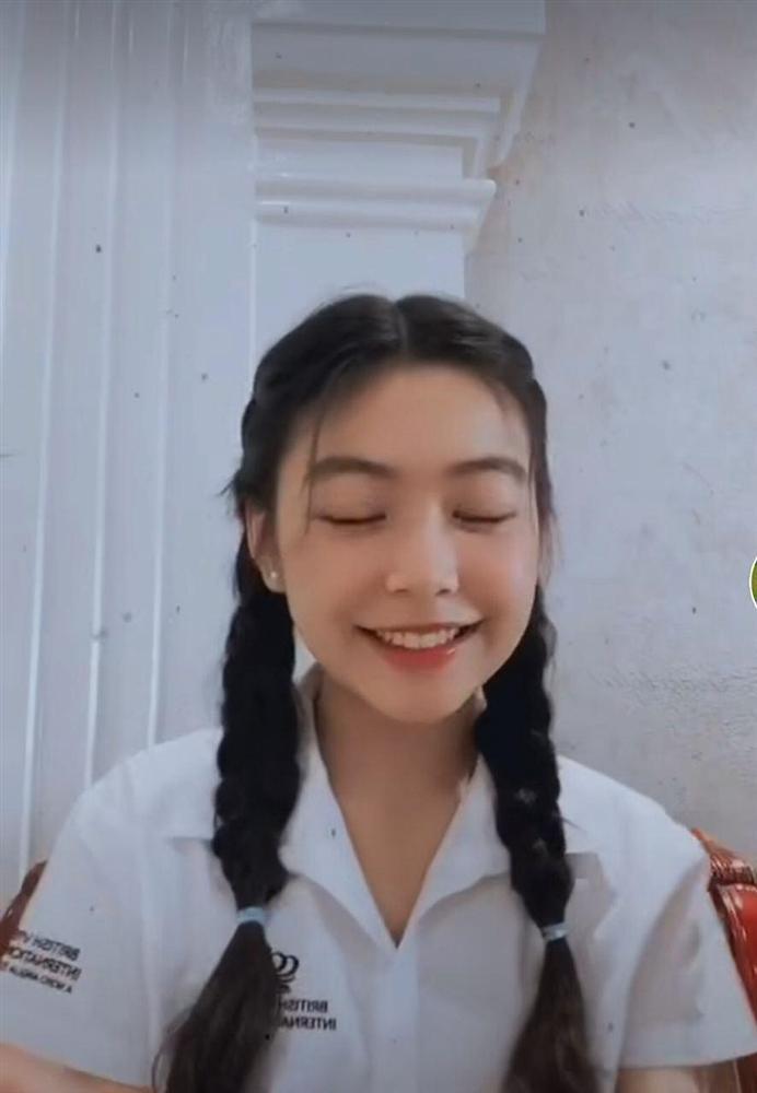 Nhan sắc Thảo Linh - con gái lớn nhà Quyền Linh ngày càng rực rỡ, thu hút vô số fan trên TikTok không thua hot girl nào-5
