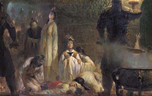 Vì sao những phi tần bị chôn sống cùng Tần Thủy Hoàng đều trong tư thế không khép chân?-3