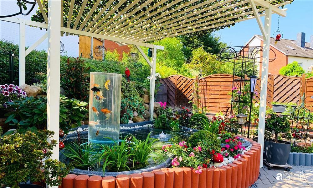 Vườn hoa 500m² đẹp như cổ tích được tạo bởi tình yêu thiên nhiên của cặp vợ chồng dành cả thanh xuân để trồng cây-4